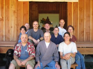 DRZC Retreat to Finish the Zendo 2008
