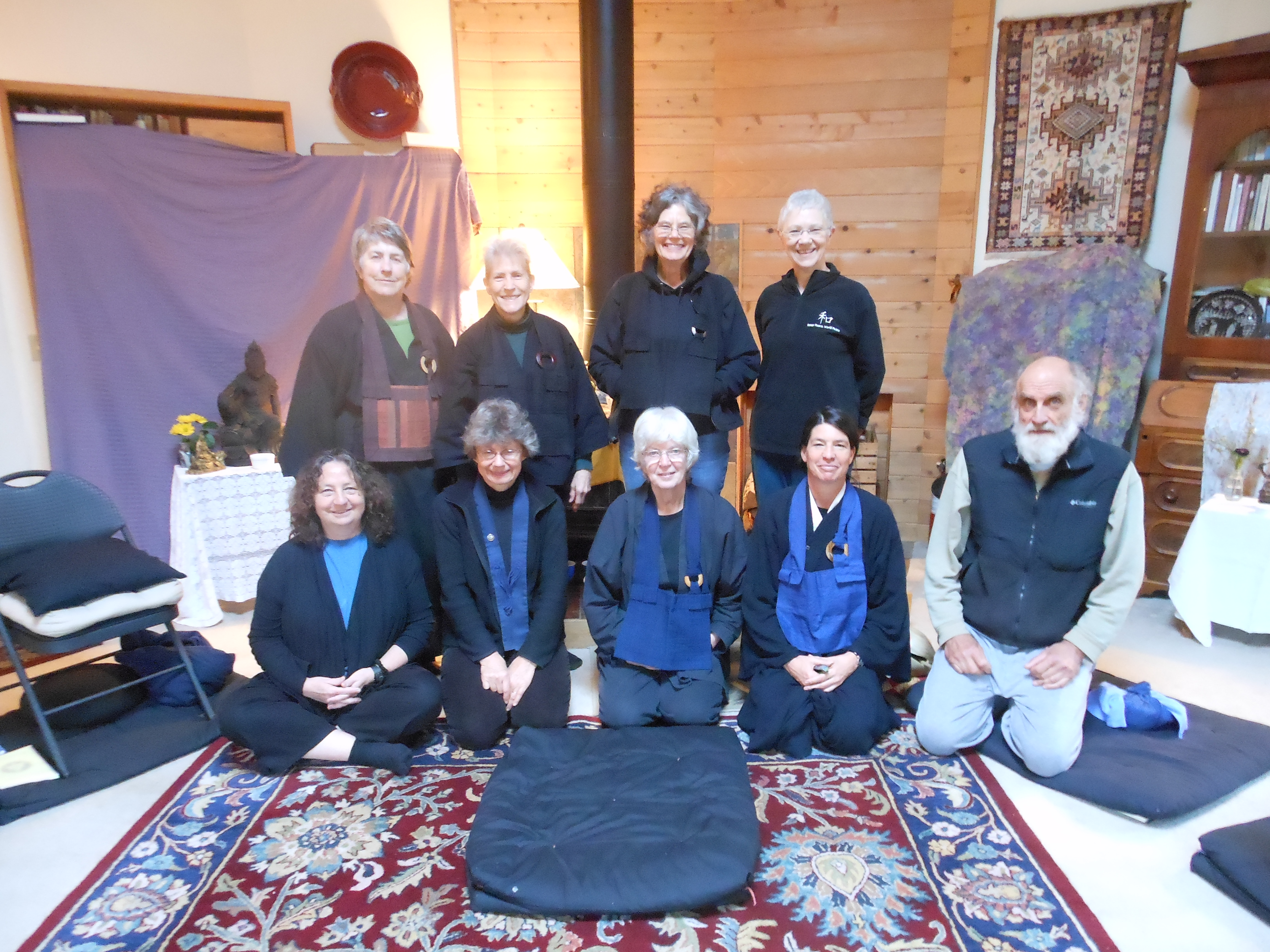 Face to Face: Learning to Trust – Empty Field Zendo